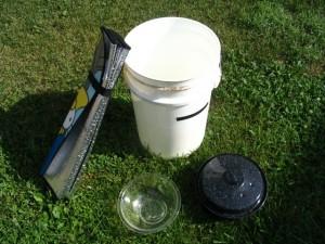 Solar Cooker components