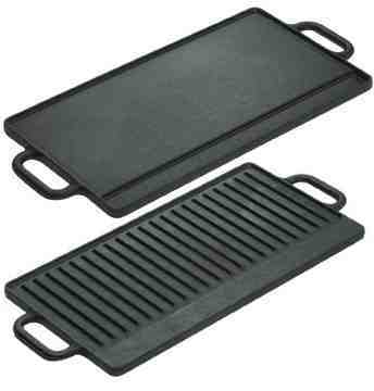 Shopping for cast iron our twenty minute kitchen - Plancha de gas para cocinar ...