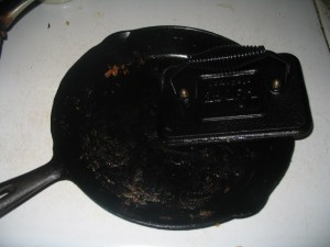 Dirty Cast Iron Pan