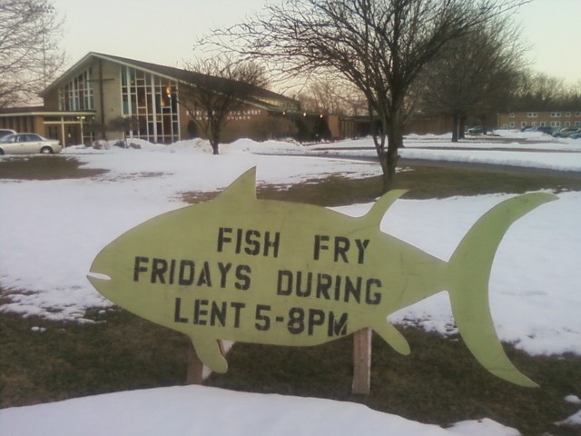 Fish on friday saint albert the great dearborn heights for Big fish dearborn
