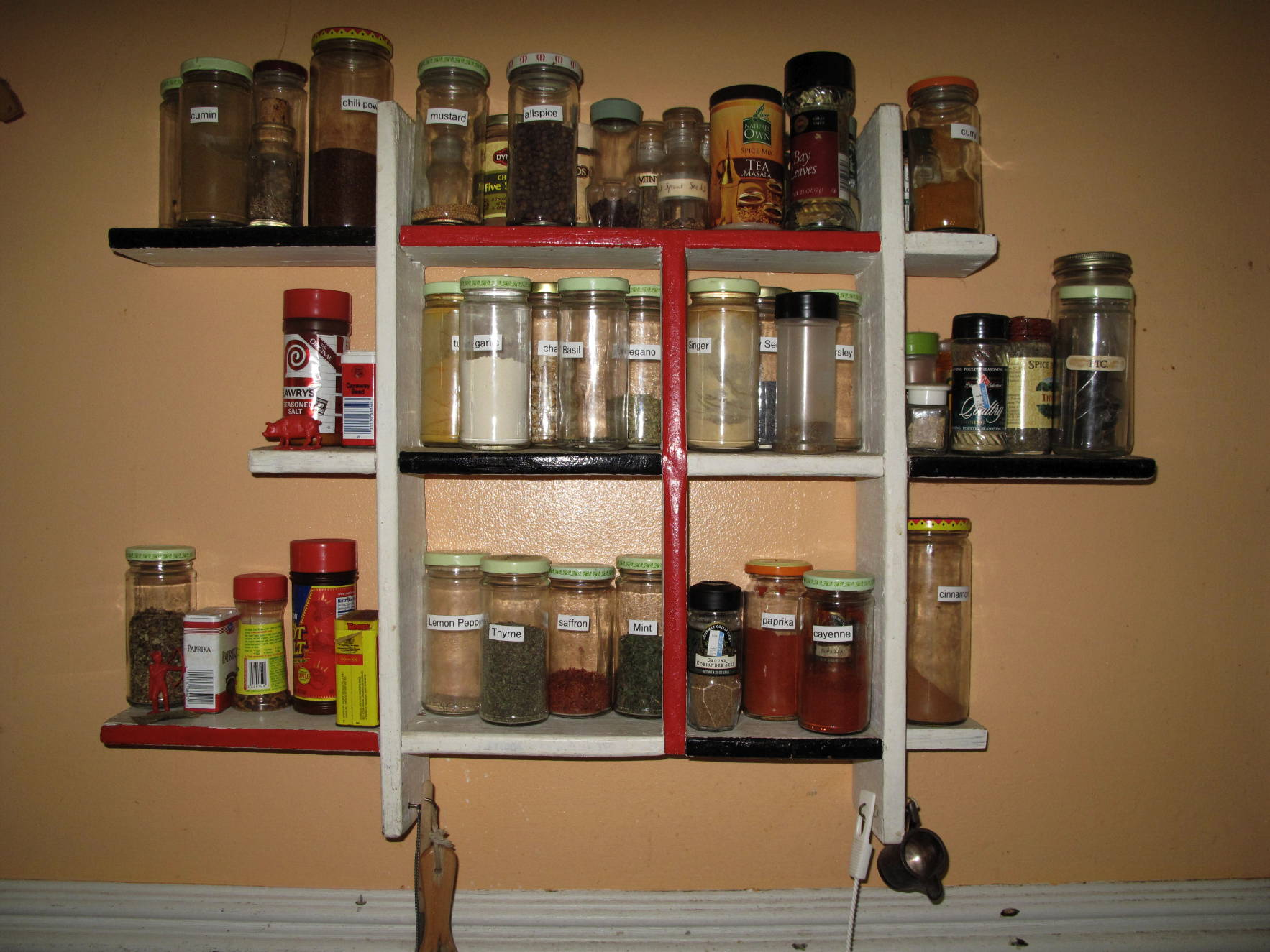 Our Spice Rack ...