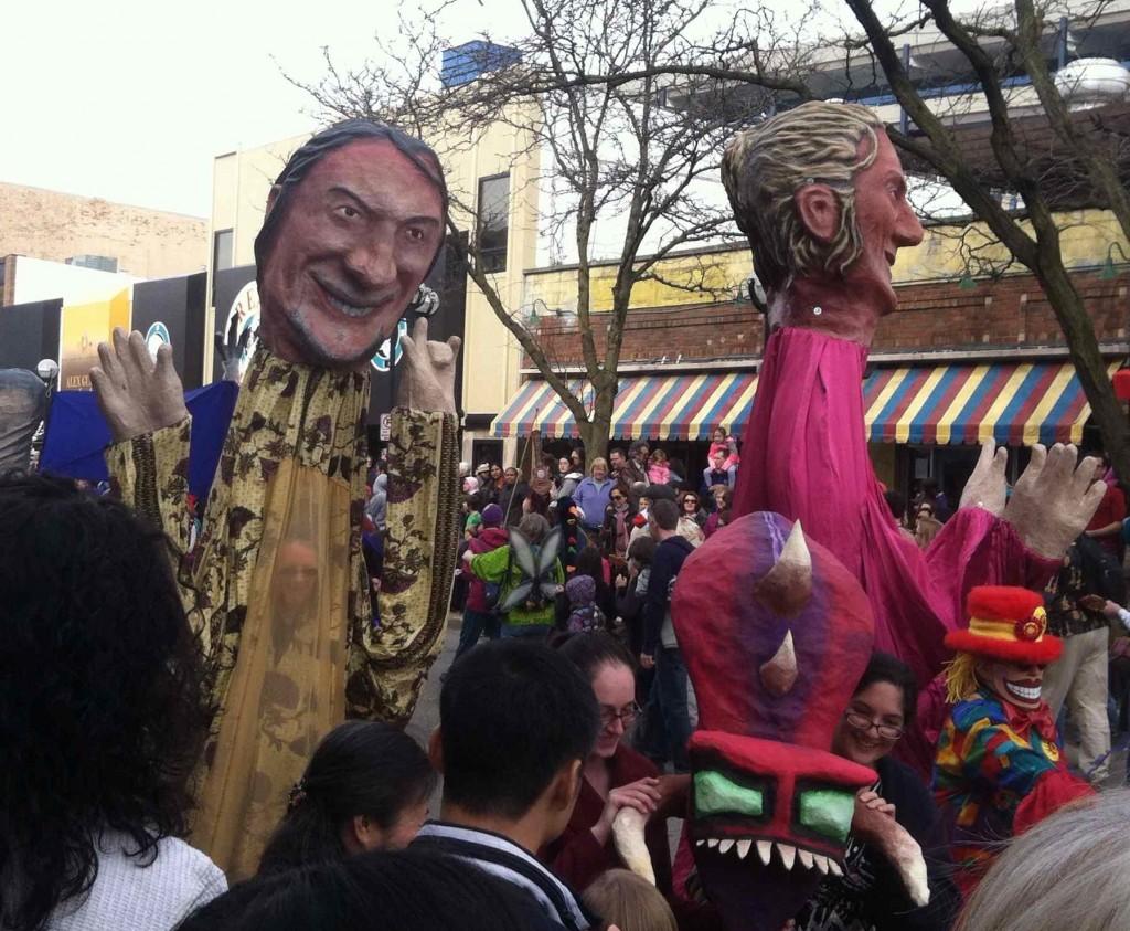 Parade Big Heads